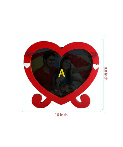 Heart Shape Table Photo Frame