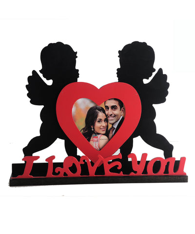 Heart Shape I Love You Photo Frame