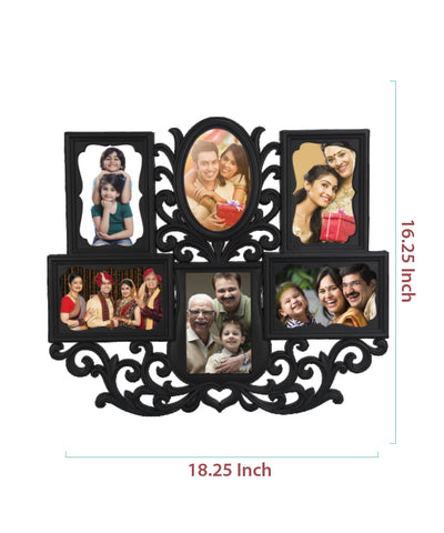High Grade Plastic Photo Frame - 6 Photos