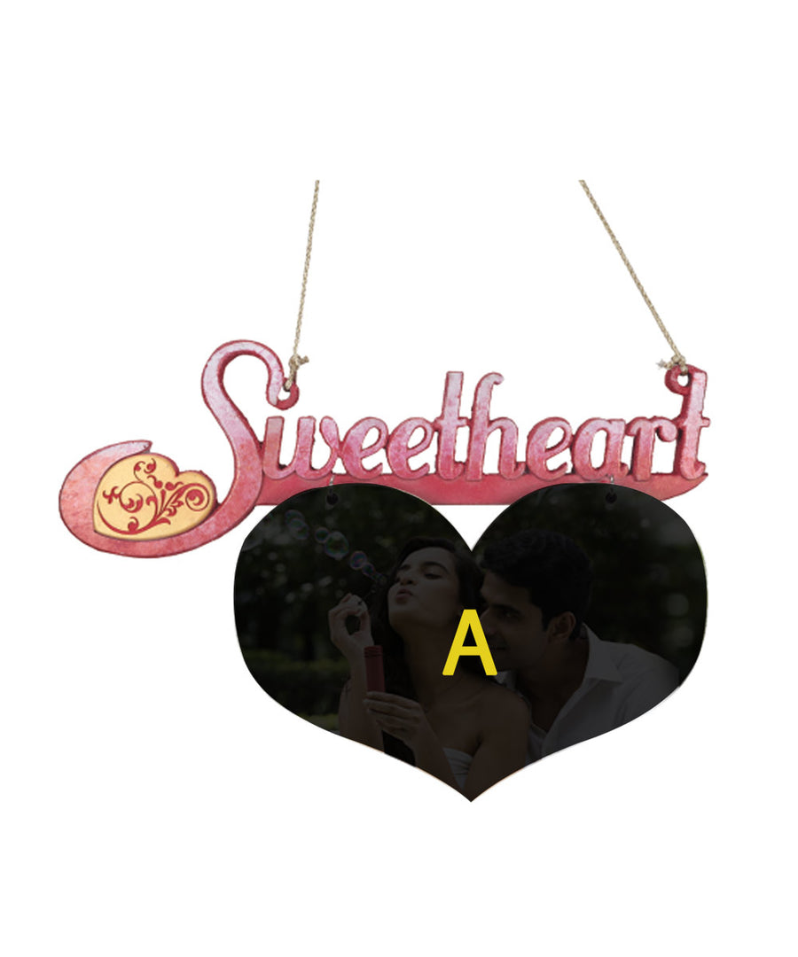 Sweetheart Hanging Plaque