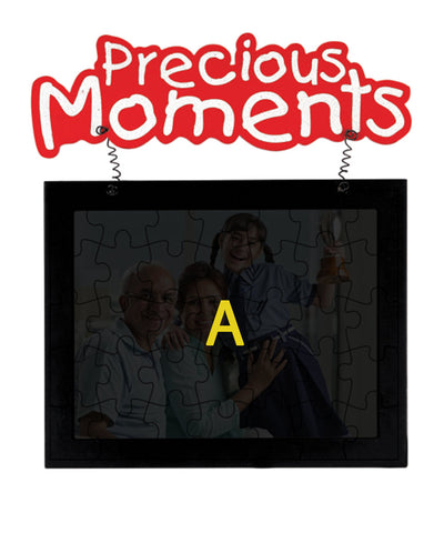 Precious Moments Hanging Jigsaw Puzzle Photo Frame