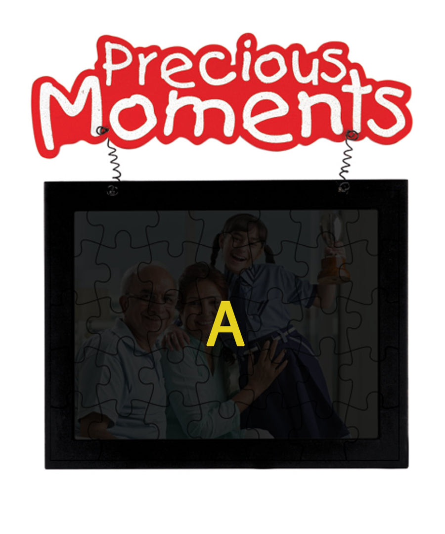 Precious Moments Hanging Jigshaw Puzzle Photo Frame