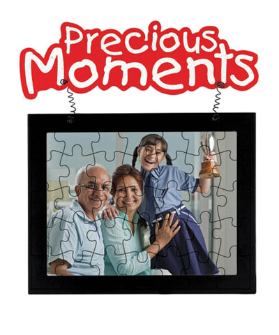 Hanging Jigshaw Puzzle Photo Frame