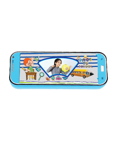 Metal Pencil Box with Photo