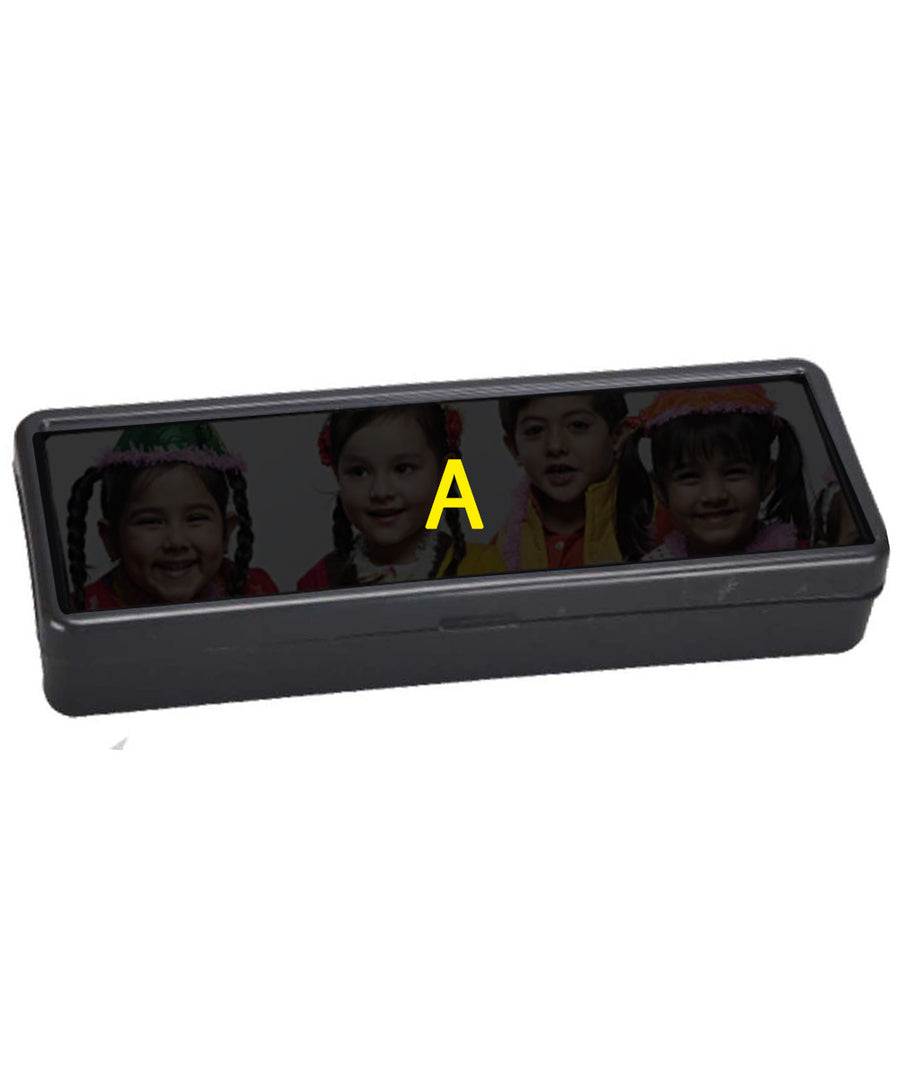 Personalized Plastic Pencial Box For Kids