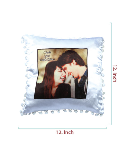Square Satin Pillow