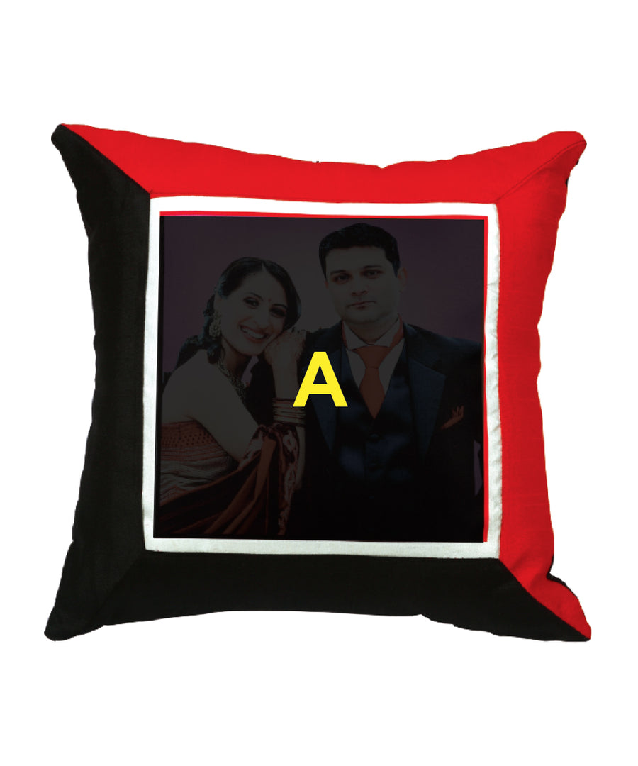 Red & Black Pillow