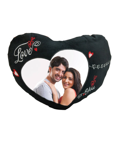 Dual Color Heart Pillow