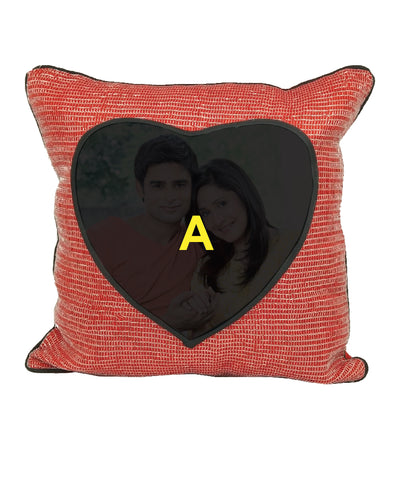 Square Pillow with Heart