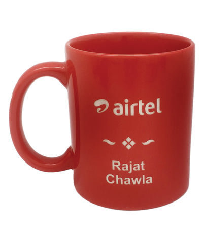 Engraved Customised mug