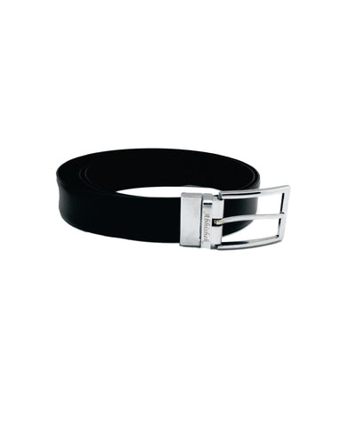 Personalised Men's Reversible Buckle With Belt
