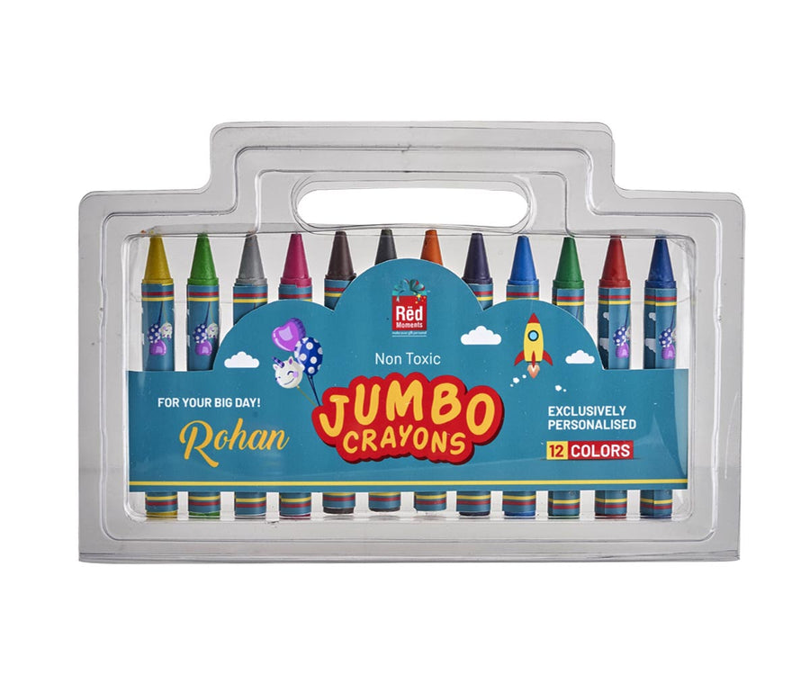 Customized Crayons Set (12 Pieces)