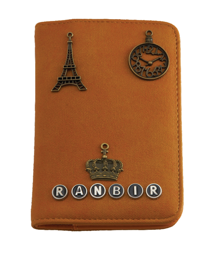 Passport Holder (Rust Orange)
