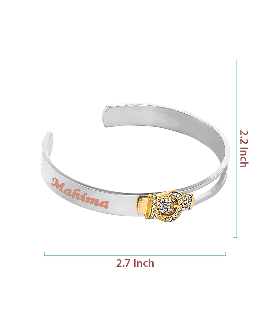 Name Engraved Ladies Bracelet