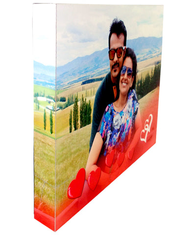 Full-Print Aluminium Frame with Photo