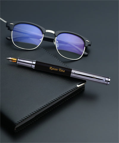 Personalized Gift Snap Cap Ink Pen