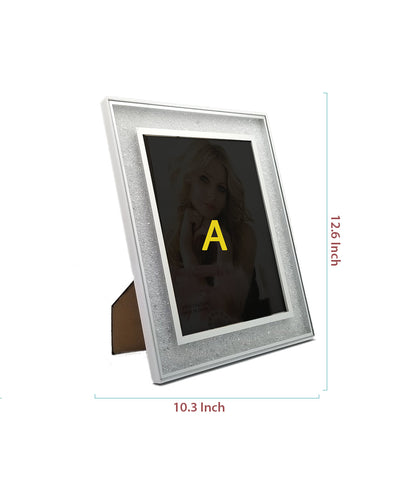 White Diamond Photo Frame