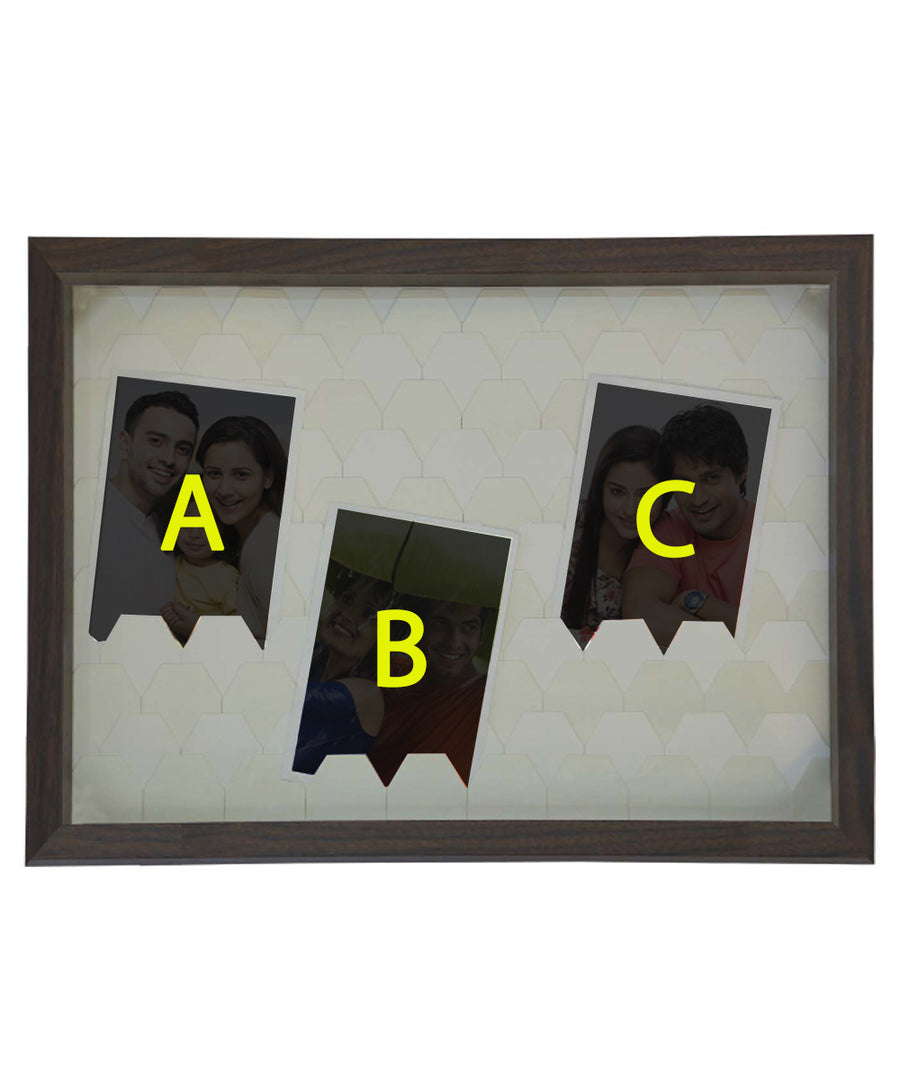 Personalized 3 Collage Photo Frame