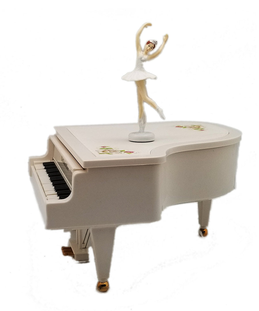 Musical Piano With Magnetic Dancing Girl