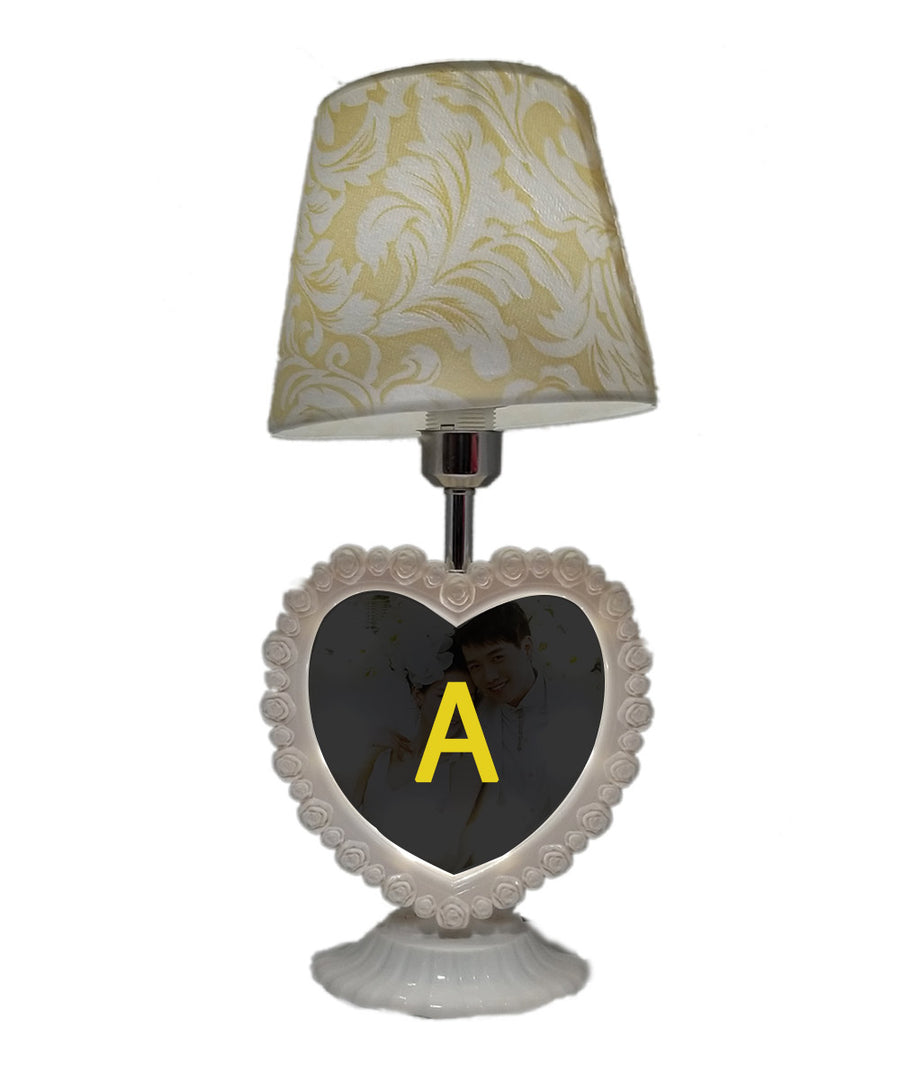 Led Chargable Lamp With Personalized Photo Frame