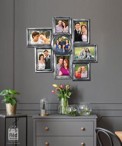 Lovely Multi Sizes 8 in 1 Photo Frame