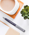Personalized Silver Stripes Pen