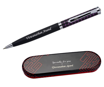 Personalized Gift Purple Stripes Pen