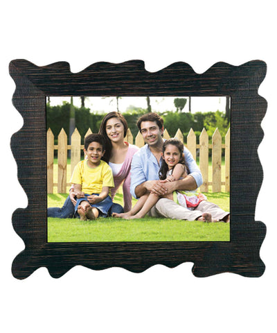 Wooden Family Photo Frame With Tile