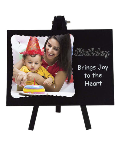 Birthday Brings Joy To The Heart Frame With Stand