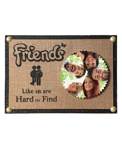 New Handicrafted 2 Personalised Photo Plaques With Tiles And Wood