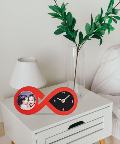 Table Clock with tile