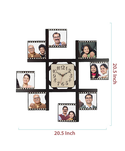 8-Foto Subli Wood Wooden Wall Clock