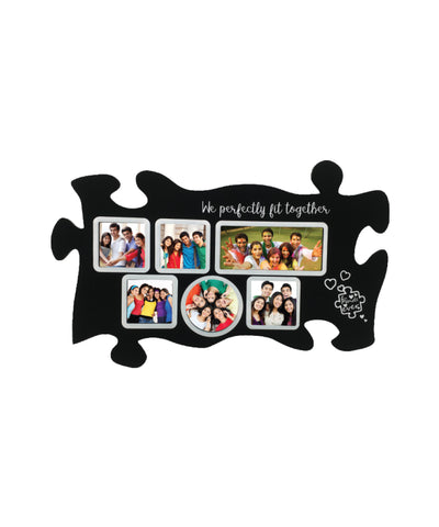 Wooden Collage Photo Frame- 6 Photos