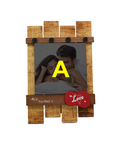 Wooden Frame With 6X6 Tile