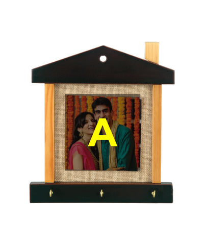 Wooden Frame With 4x4 Tile