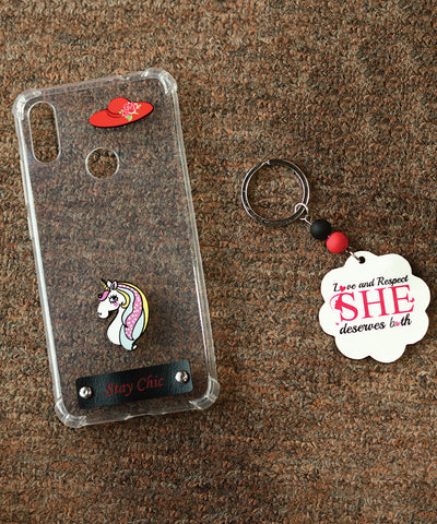 Stay chic Mobile Cover