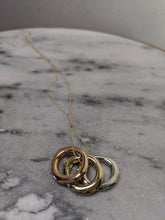 Load image into Gallery viewer, Three Rings Necklace