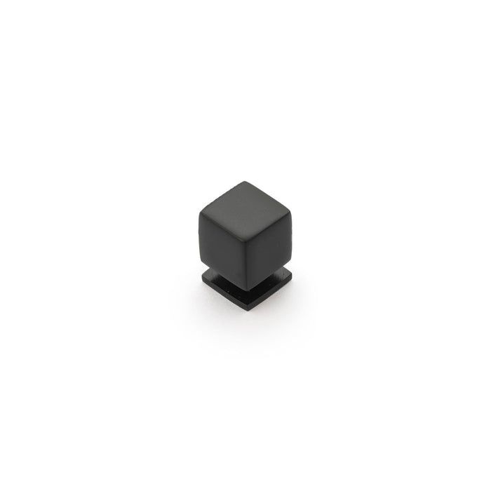 Cube 18mm Square Knob (various finishes)