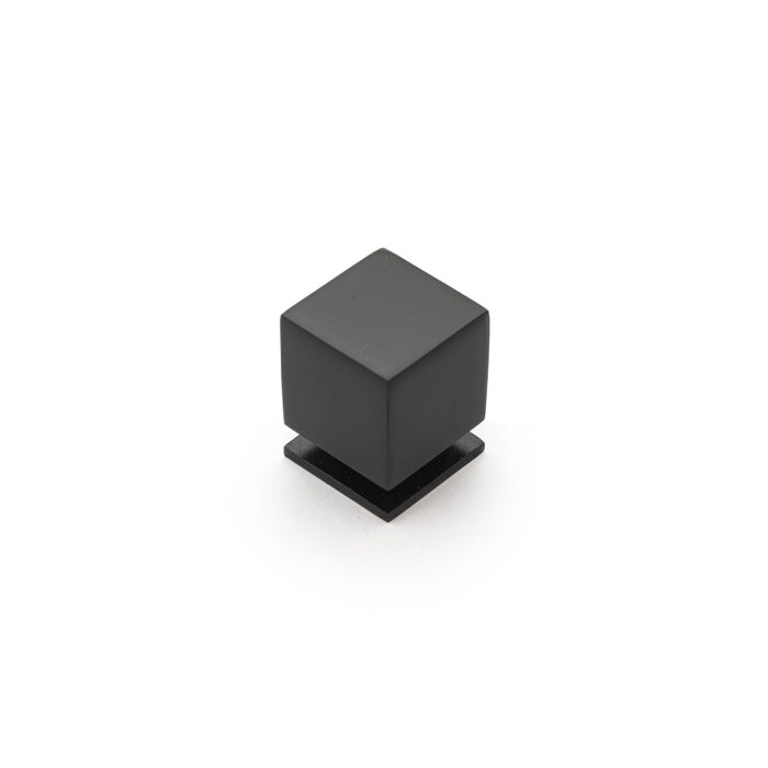 Cube 25mm Square Knob (various finishes)