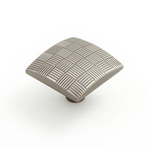Tesselate 34mm Square Knob (various finishes)