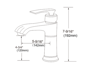 6001 Series basin faucet - Various Finishes