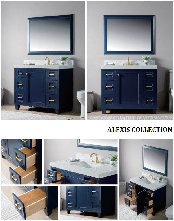 Alexis Collection timber vanity
