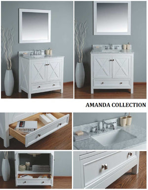 Amanda Collection timber vanity