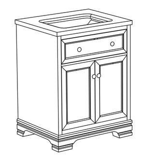 Amy Collection timber vanity