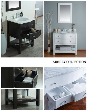 Aubrey Collection timber vanity