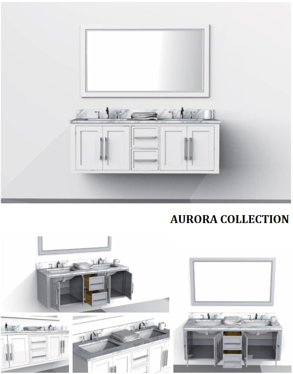 Aurora Collection timber vanity