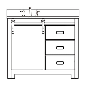 Barbara Collection timber vanity
