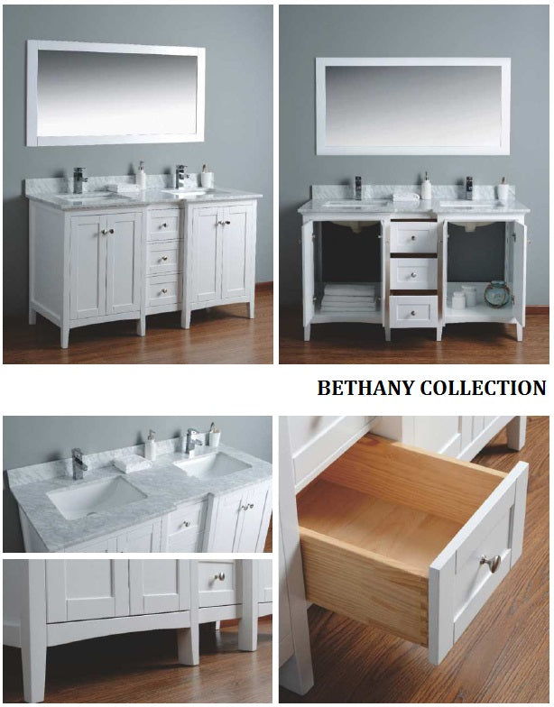 Bethany Collection timber vanity