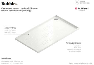 Silestone Bubbles Shower Tray