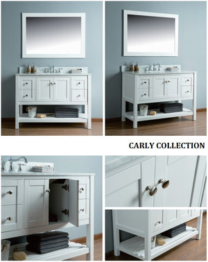 Carly Collection timber vanity